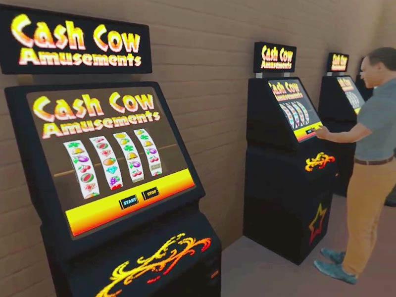 Bar-Spielautomaten