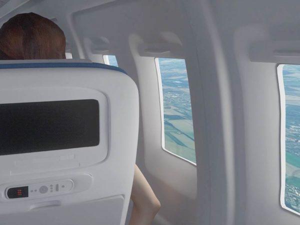 VR-Szenario Flugzeug