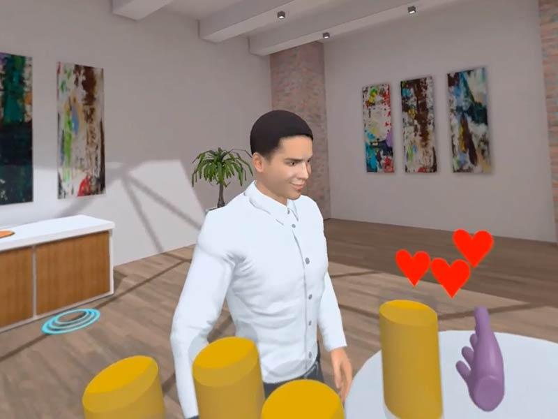 VR-Szenario Foyer