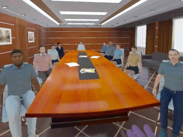 VR-Szenario Vortrag