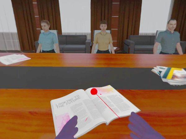 VR-Szenario Prüfung