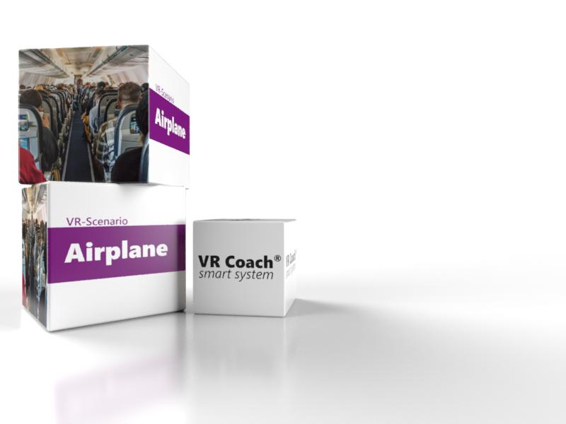 VR-Szenario Airplane