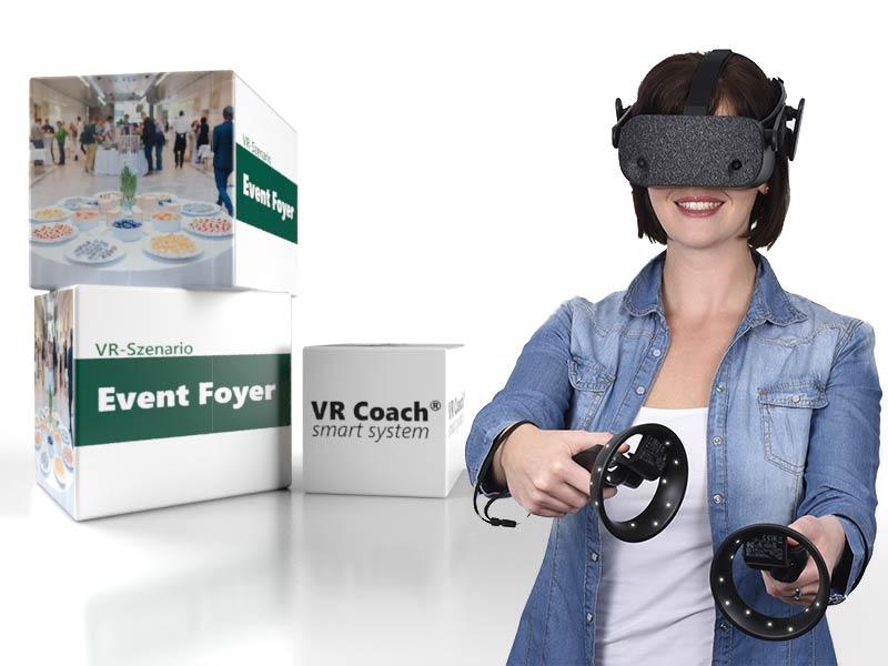 VR scenario event foyer