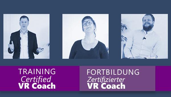 Trailer Fortbildung Zertifizierter VR Coach