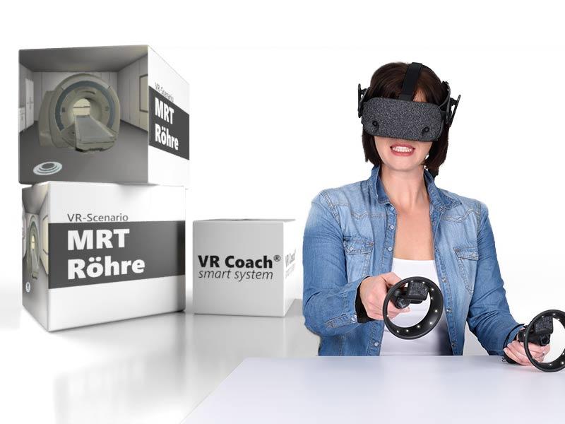 VR-Szenario MRT-Roehre
