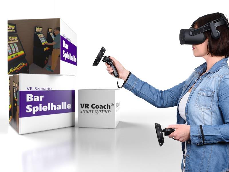 VR-Szenario Bar