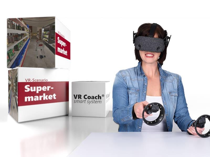 VR scenario supermarket