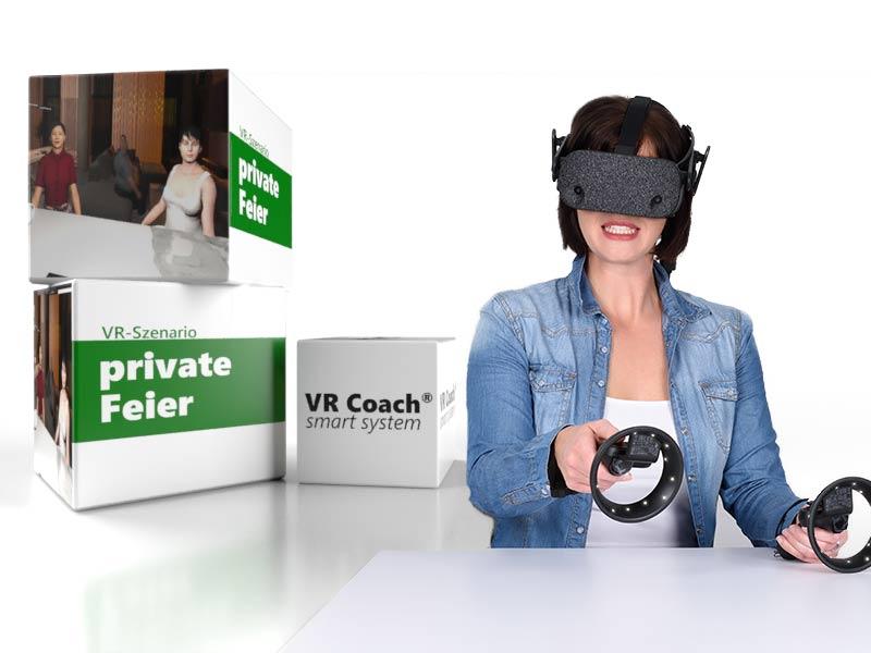 VR Szenario private Feier
