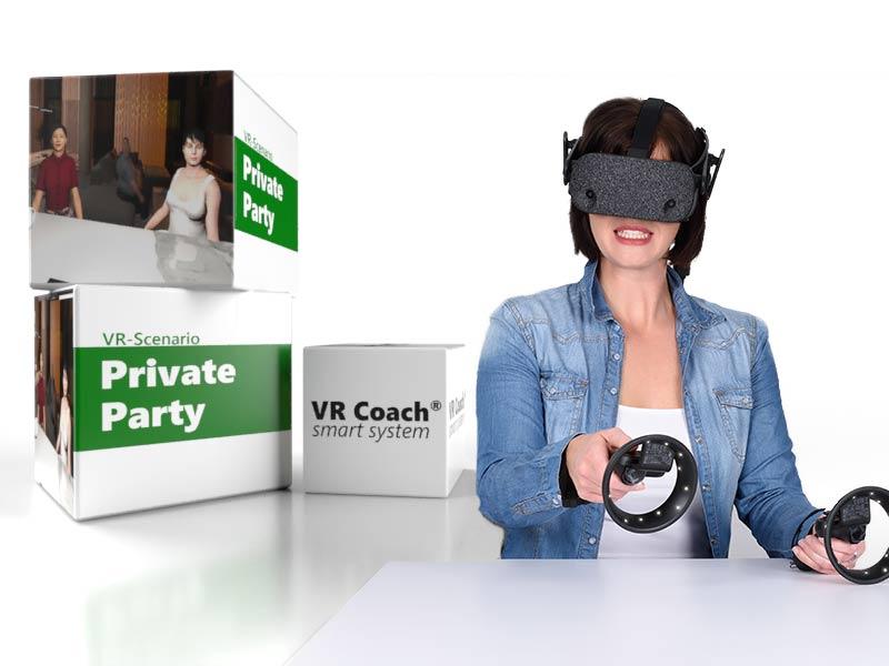 VR Scenario Private Party