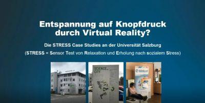 Entspannung durch VR